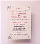 Western Rustic Wedding Invitations | In the West // ForeverFiances