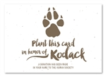 Paw Print Thank you cards | Paw Print