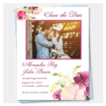 Photo Wedding Save the Date Sentimental (100% recycled paper)