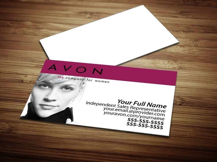 Avon Business Card Design 3