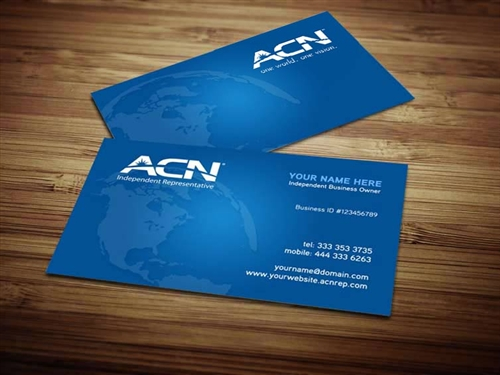Acn Business Card Design 4