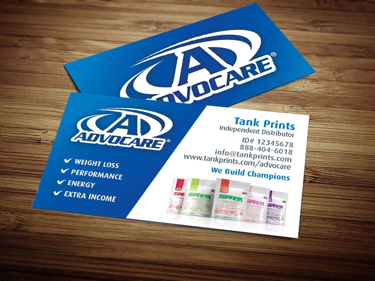 Advocare Business Card Design 2