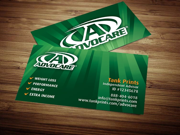 Advocare Business Card Design 3
