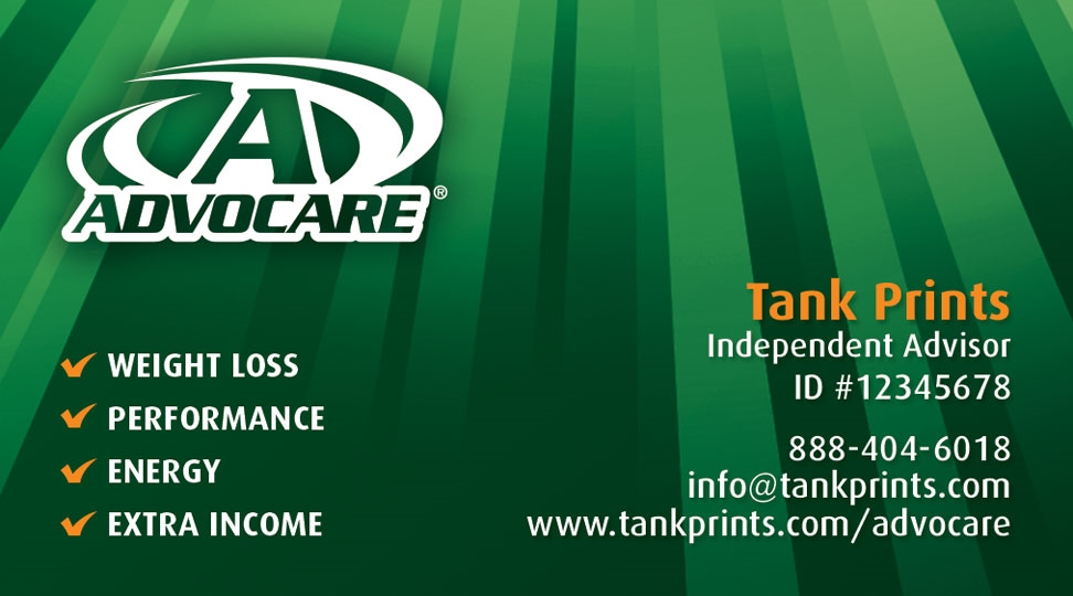 Gallery Advocare Business Cards