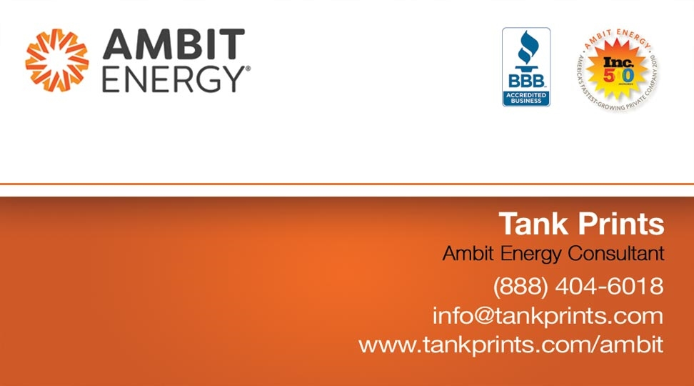 Ambit Business Card Design 1