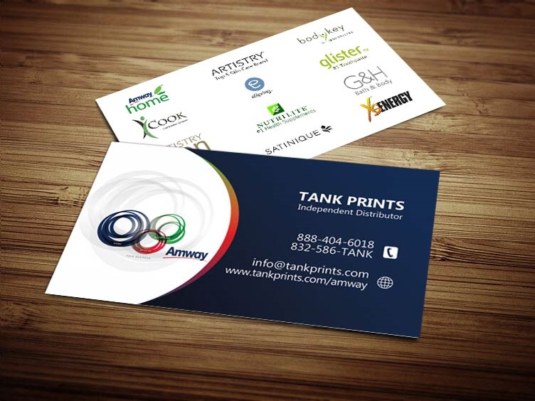 Amway Business Card Design 3