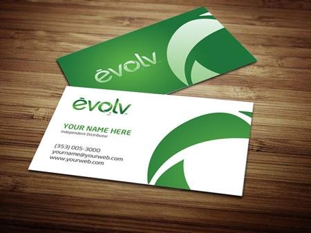 Evolv Business Card Design 3