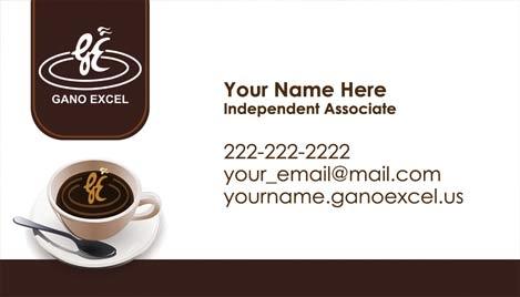 Gano excel business card design 2