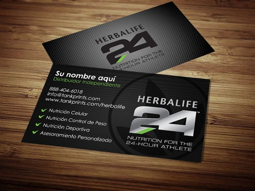 herbalife 24 business cards 5 spanish