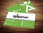 Isagenix business card template 6