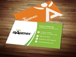 Isagenix business card template 7