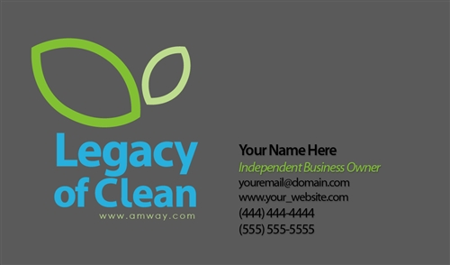 Legacy of Clean Business Card Design 3