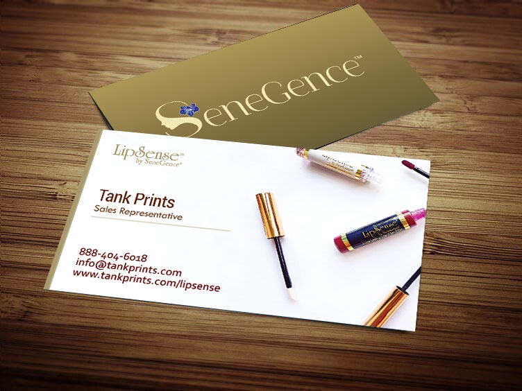 LipSense Business Card Design 3