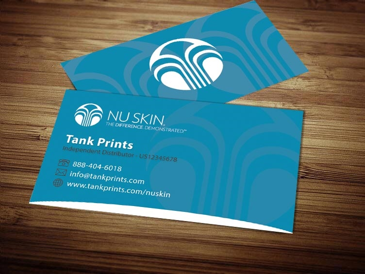 nu skin business card design 2