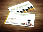 Natures Sunshine business cards 2