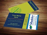 Shaklee business card template 1