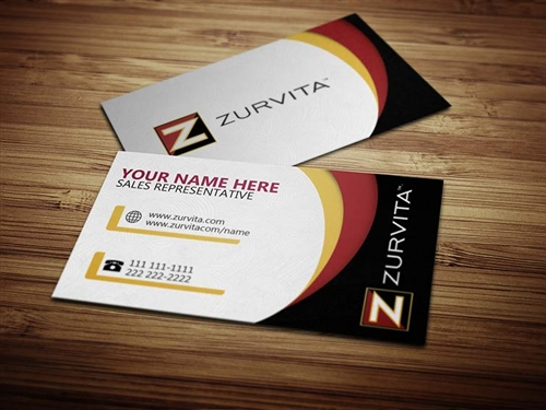 Zeal for Life Business Card Design 3