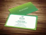 zija international business cards 1