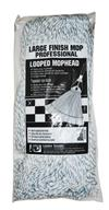 Lanier Large Finish Mop Professional Looped Mophead 115-LOOPED-FM