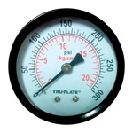 Tru-Flate Air Line Gauge Polycarbonate 1/4 in. NPT 24-804