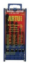 ARTU USA 5-Pc Multi-Purpose Drill Bit Set 01505