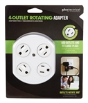 360 Electrical 4-Outlet Rotating Adapter 36030