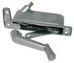 Barton Kramer 2-1/2 in. Silver Left Hand Awning Window Operator for Binnings/Pan American Window 233