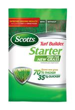 Scotts Turf Builder Starter Food for New Grass