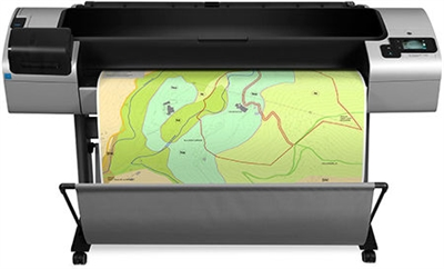 "HP Designjet T1300 44"" wide format ePrinter with Post Script"