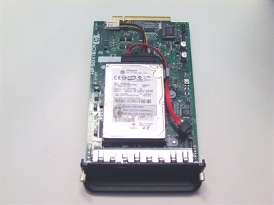 HP Designjet T610 Formatter board HP Part Q6711-67004 with SATA Hard Drive to fix error 79:04 and 08:11 in the Designjet T610 wide format printer