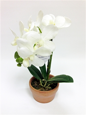Orchid Silk Flower Arrangement