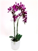 23 Inch Phalaenopsis Orchid Real Touch Artificial Flower Arrangement