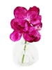 8 Inch Purple Vanda Orchid Real Touch Artificial Flower Arrangement