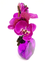 Phalaenopsis Orchid Real Touch Artificial Flower Arrangement