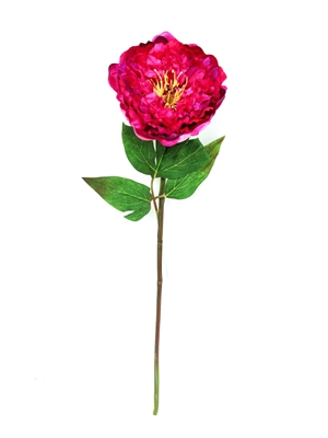 Real Touch Lau's Flowers Artificial Flower Peony Stem