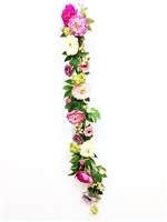 Real Touch Lau's Flowers Artificial Flower Peony Garland