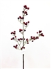 Real Touch Lau's Flowers Artificial Flower Victoria Berry Spray