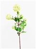 Real Touch Lau's Flowers Artificial Flower Snowball Spray