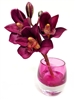 Purple Cymbidium Orchid Real Touch Artificial Flower