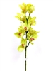 Cymbidium Orchid Real Touch Flower Stem - Green