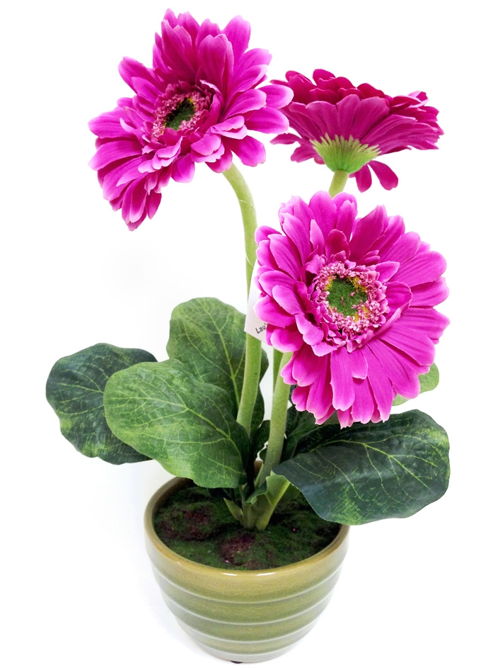 Buy online 13 purple gerbera silk flower arrangement 13 purple gerbera silk flower mightylinksfo
