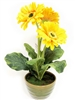 Yellow Gerbera Silk Flower