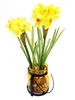 "13"" U.S. Daffodil Silk Flower Arrangement"
