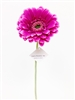 Purple gerbera daisy silk flower stem