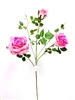 38 inch Silk Rose Flower Spray in Pink color