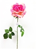 Light Pink Silk Rose Flower Stem