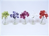 "Vanda Orchid REAL TOUCH Artificial Flower 8""h"