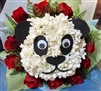 Smiley Panda Arrangement Flowers