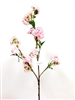 "48"" Lincoln Light Pink Silk Cherry Blossom Flower Spray"