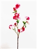 "48"" Lincoln Pink Silk Cherry Blossom Flower Spray"